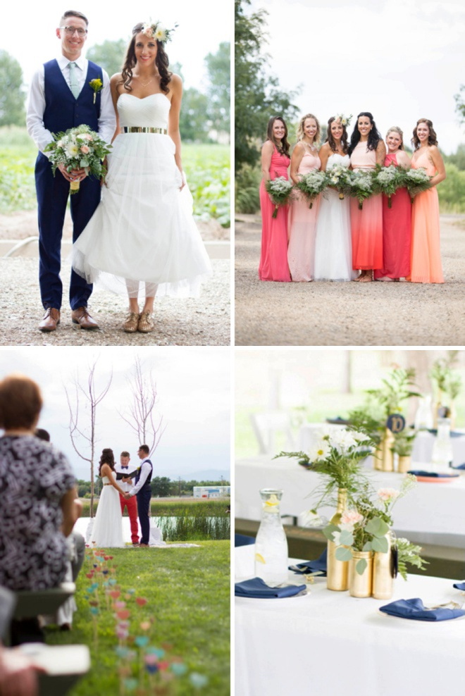 Awesome real DIY wedding of Michelle and Gabor!