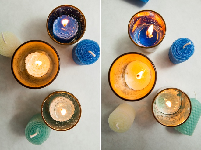 Burn time of beeswax votives.