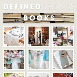 9 Awesome ideas for a book themed wedding!