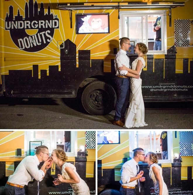 Donut Truck for wedding dessert!