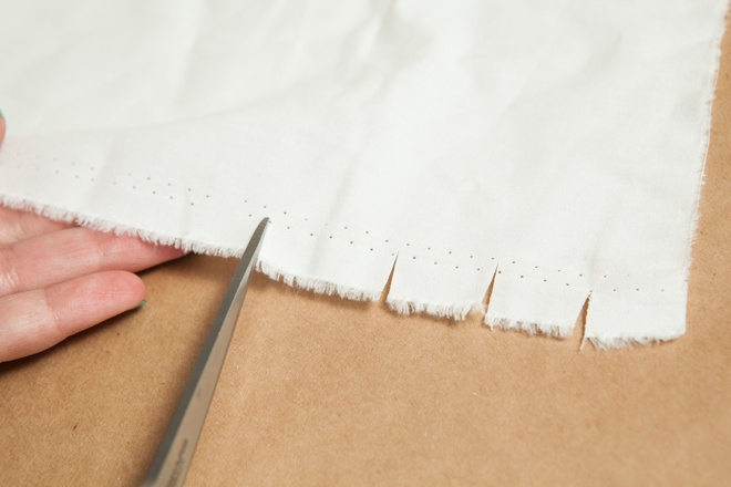 How to rip your own muslin ribbon!
