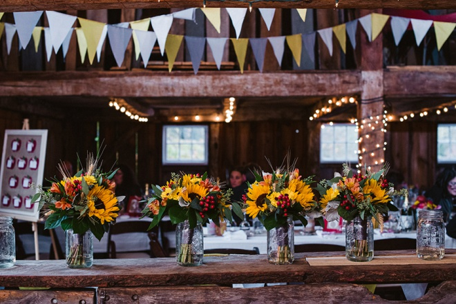 We Love This Sunflower and Apple Bouquets!