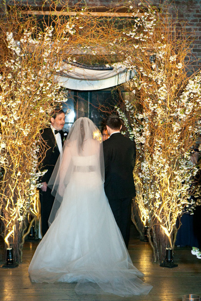 Wrap your chuppah in twinkle lights