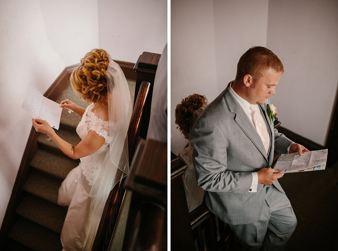 Touching Moment Before the Ceremony!