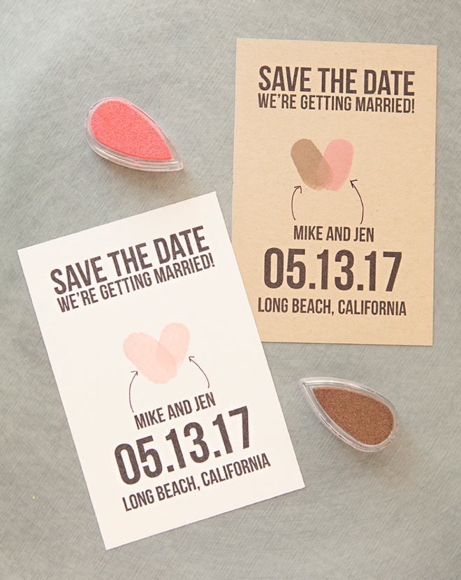 Create a save the date online in Sydney