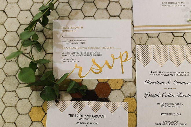 Gorgeous details for this darling DIY wedding!