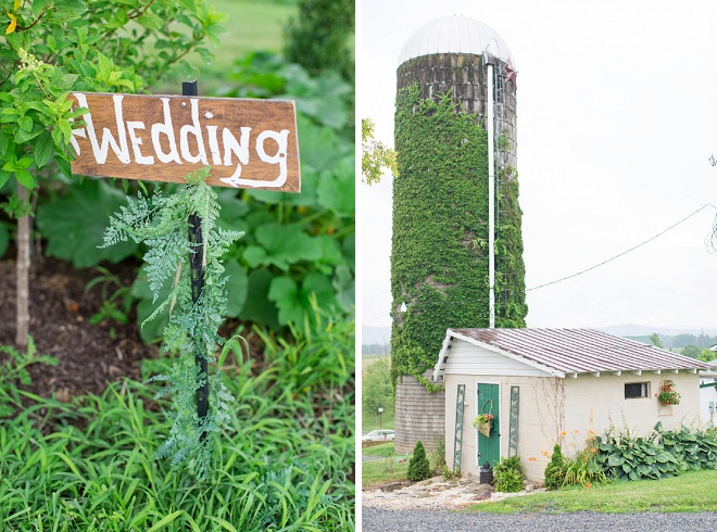 We love this darling rustic outdoor wedding!