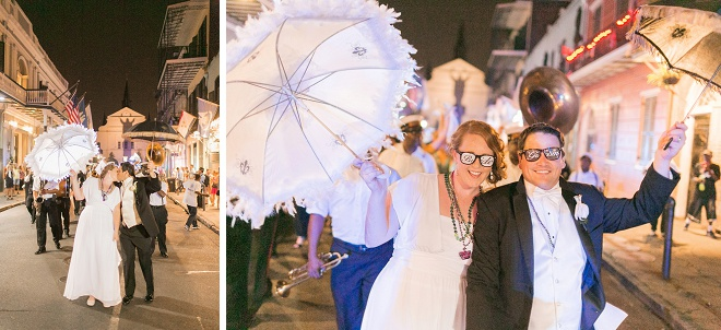 We love this fun New Orleans wedding!