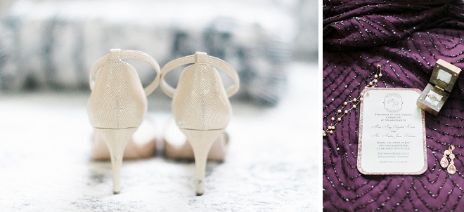 We love these gorgeous details of this classic DIY wedding!