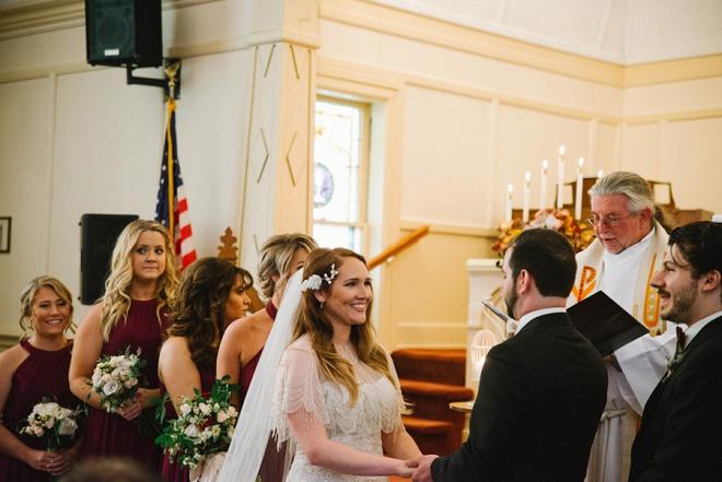 We love this gorgeous ceremony!