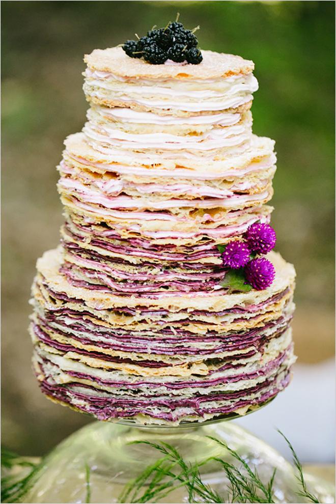 wedding crepe cake
