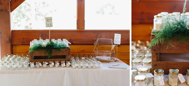 Loving the clean boho look of this gorgeous barn reception!