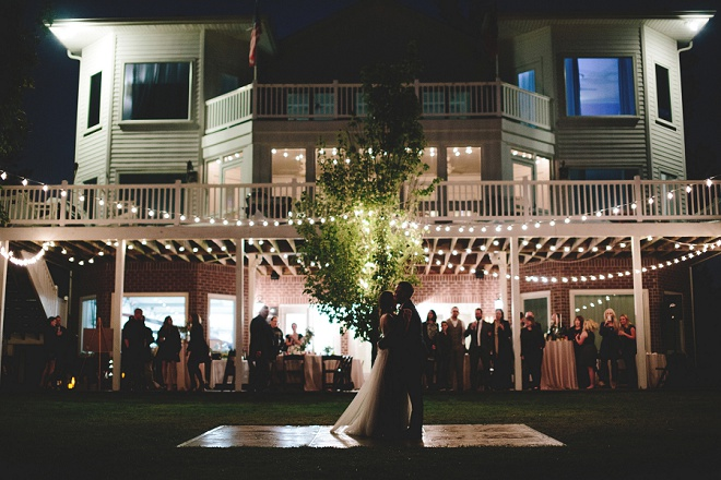 We LOVE our Bridal Blogger Shea's gorgeous backyard wedding reception!