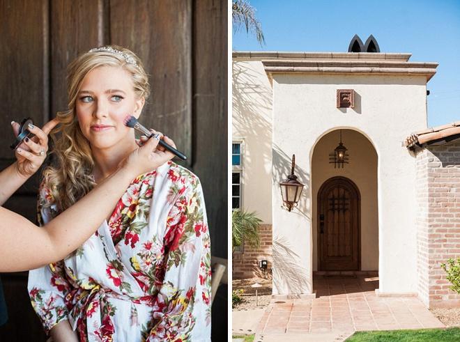 We're loving this darling Bride and her DIY desert wedding!
