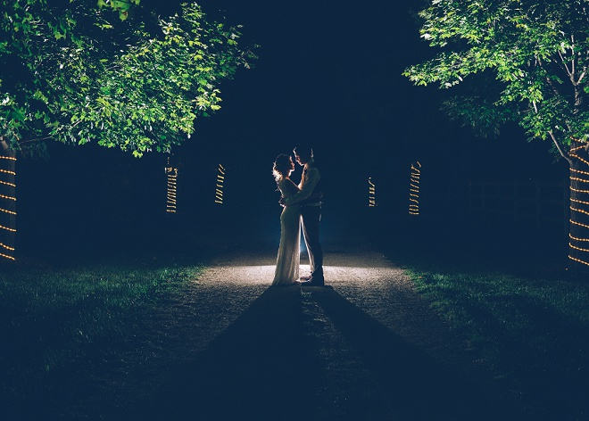 Swooning over this gorgeous Bride and Groom at the end of their wedding!