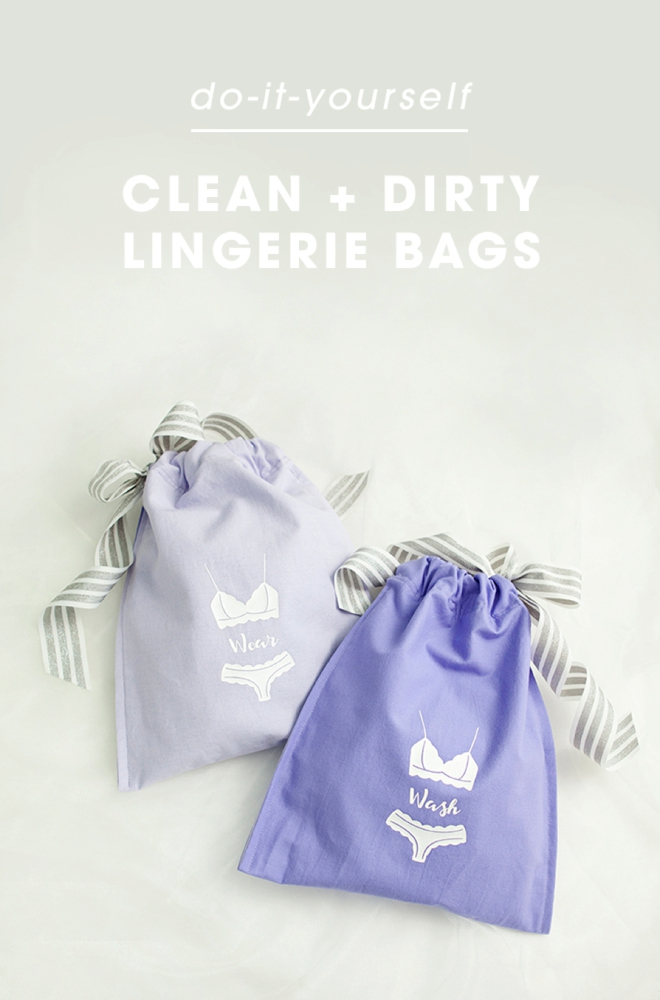 Learn how to make these darling wash and wear lingerie bags!