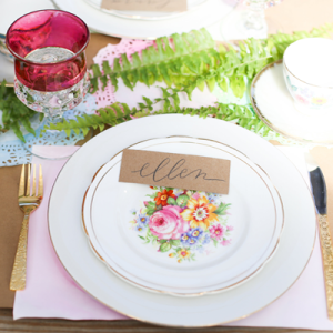 We love this gorgeous garden bridal shower!