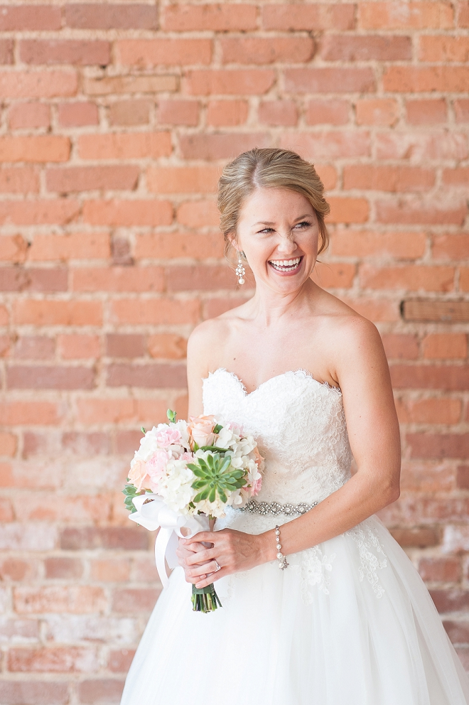 We're loving this gorgeous Bride getting ready for the big day!