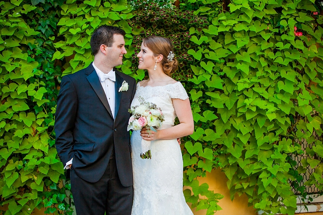 We're in LOVE with this gorgeous Charleston wedding and Mr. and Mrs!