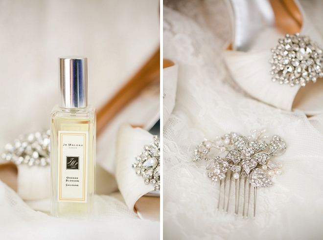 This Bride took our advice and used a special wedding day fragrance!