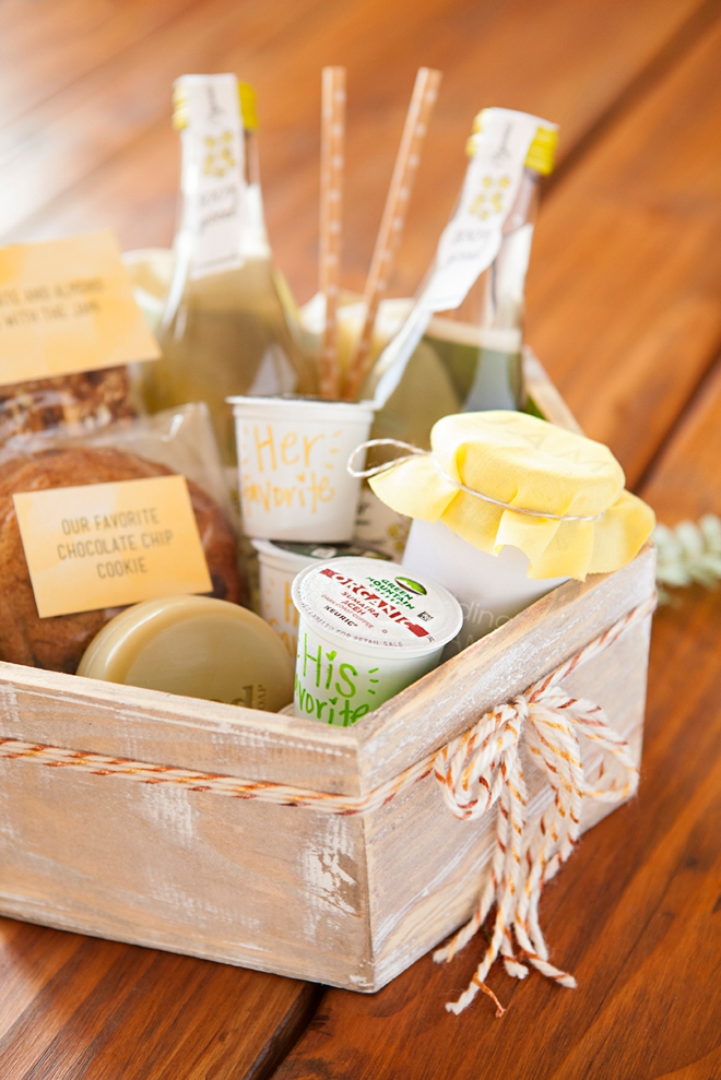How to make the most darling boho wedding, hotel welcome gifts!