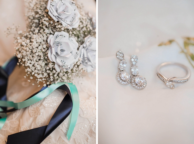 We're swooning over this Bride's gorgeous wedding day details!