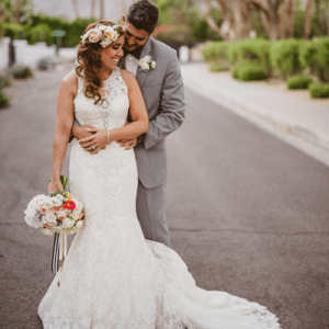 We're in LOVE with this gorgeous Palm Springs wedding!