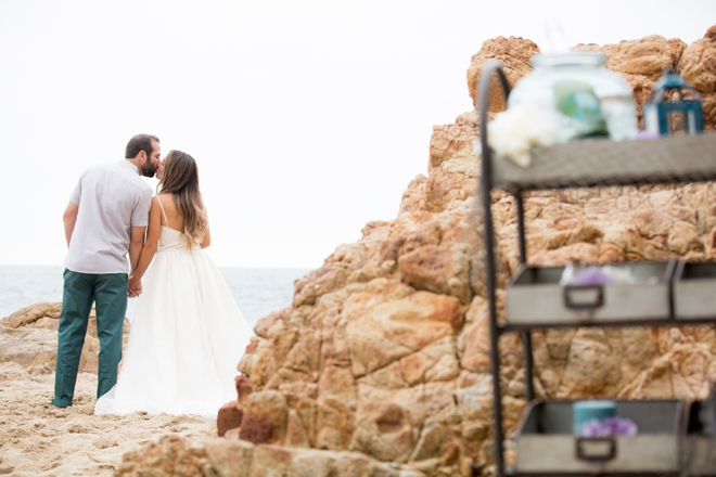 Check out this amazing DIY, mermaid inspired beach wedding inspiration!