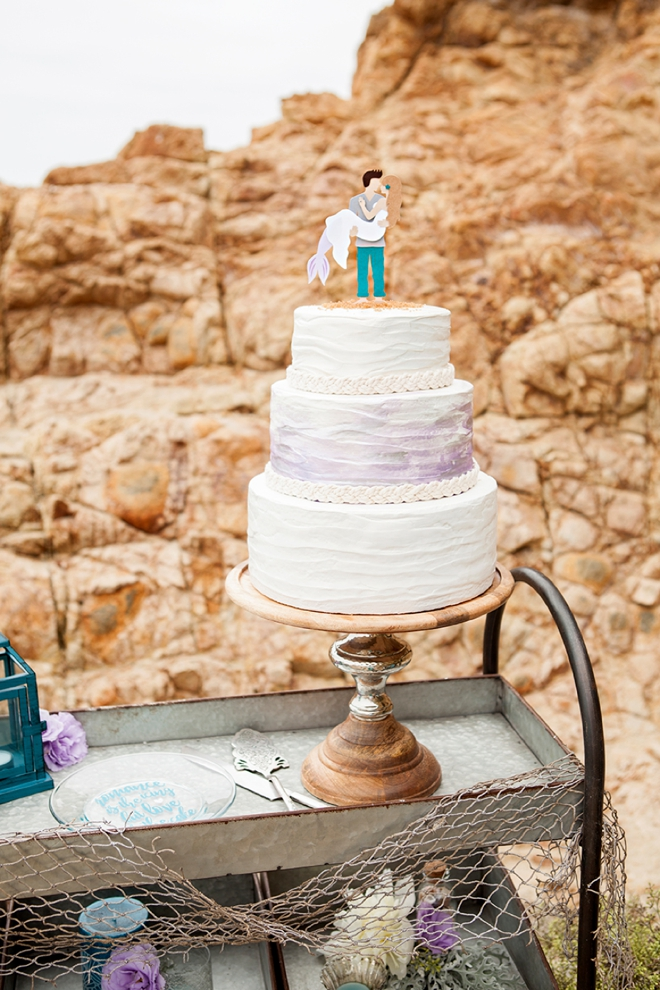 Learn how to make your own custom wedding cake plate, the easy way!