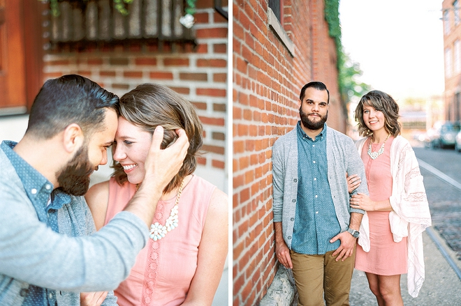 We're swooning at this super sweet Columbus engagement session!