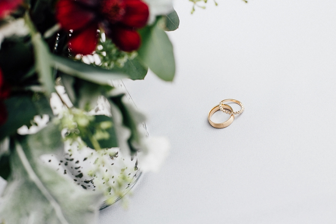 We're swooning over this gorgeous ring shot!