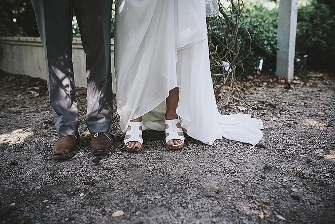 We're swooning over this super romantic garden wedding!