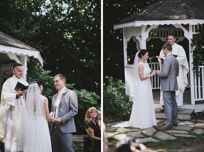 We love this darling couple and their super sweet ceremony!
