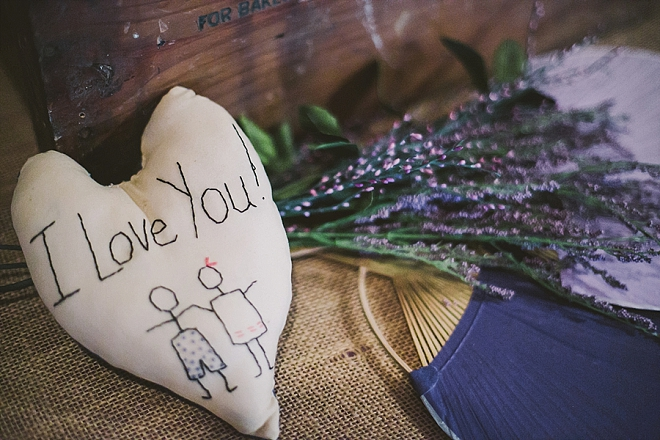 We love the story behind this meaningful keepsake!