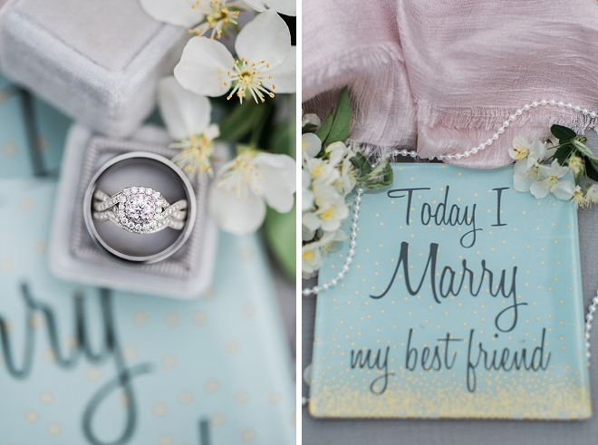 We're obsessed with this gorgeous ring shot!