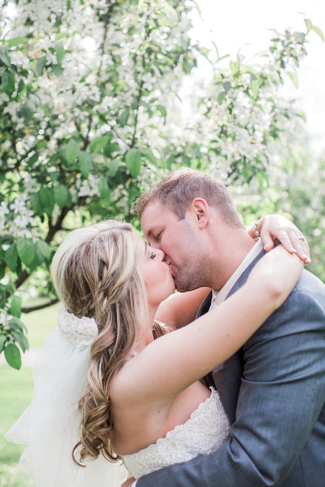We love this darling Mr. and Mrs. and their stunning wedding!