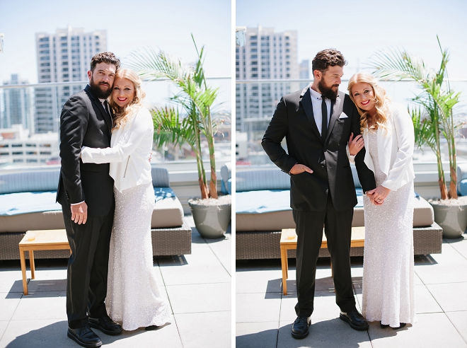 Such a sweet first look between the soon-to-be Mr. and Mrs!