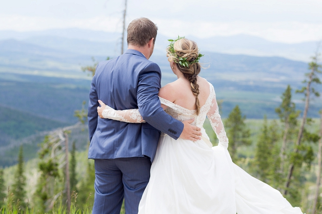 We are crushing hard on this couple and their dreamy Denver wedding!