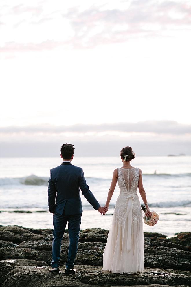 We are crushing on this stunning Cliff Resorts wedding!