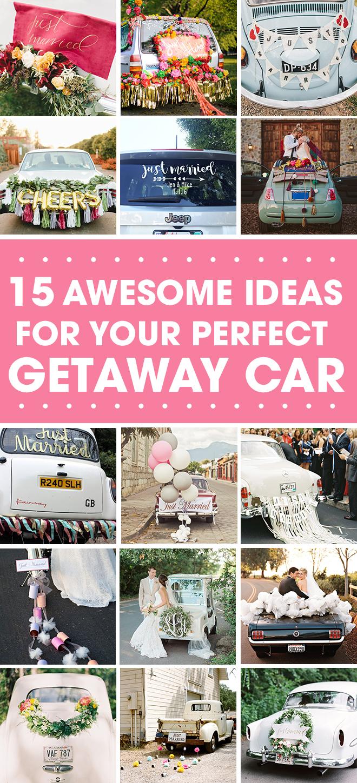 15 Amazing Getaway Car Ideas