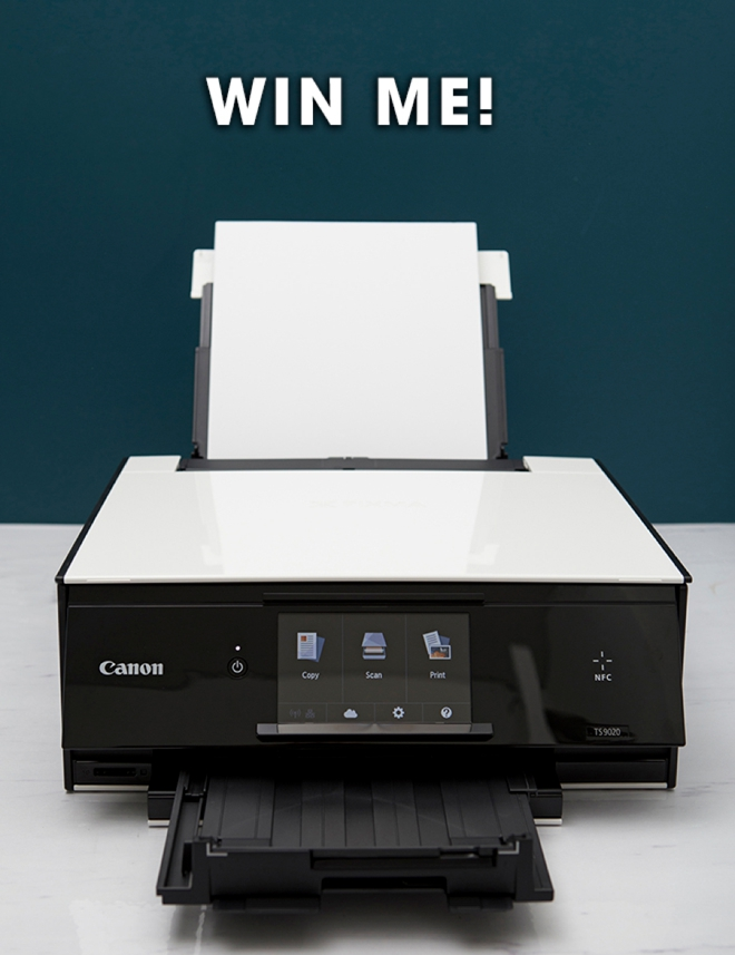 You can win this brand new Canon PIXMA TS9060 All-in-One Printer, enter now!