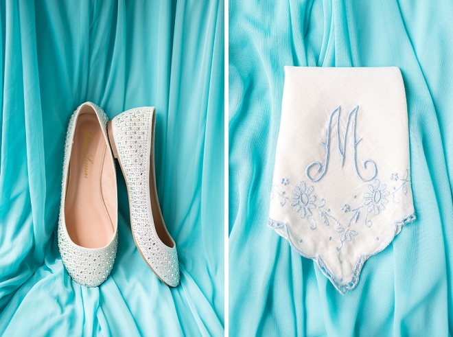 Loving this Bride's gorgeous wedding day details!