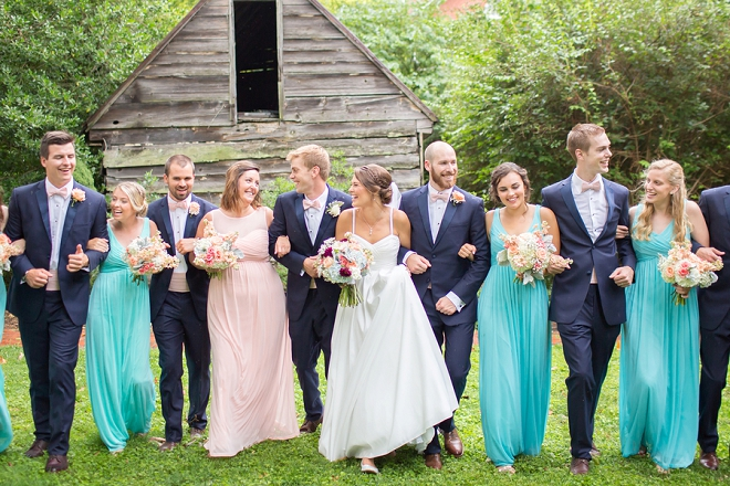 Check out this stunning Bridal party after the ceremony!