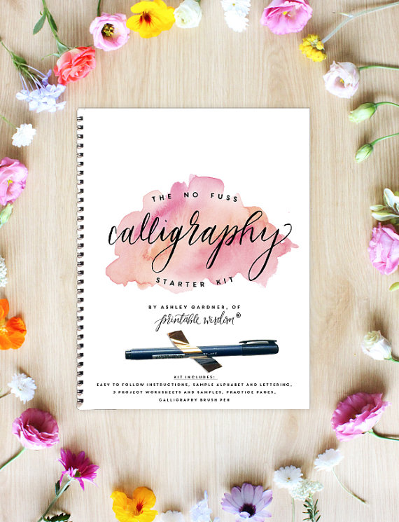 Every new bride NEEDS this awesome calligraphy starter kit!