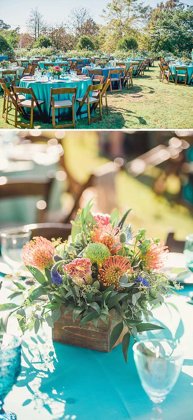 We're in LOVE with this couple's AMAZING flowers at this stunning California wedding!