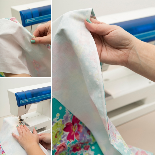 How to make a french seam, easily explained!