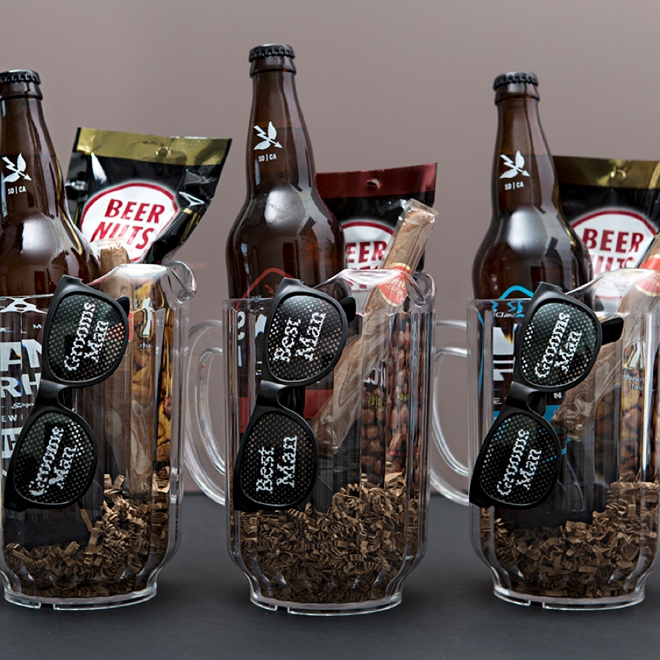 You HAVE To See These Awesome Groomsmen Beer Pitcher Gifts