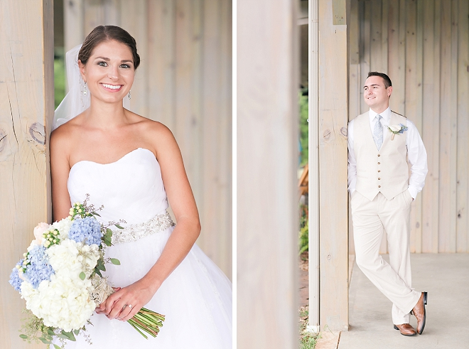 The stunning Bride before the ceremony!