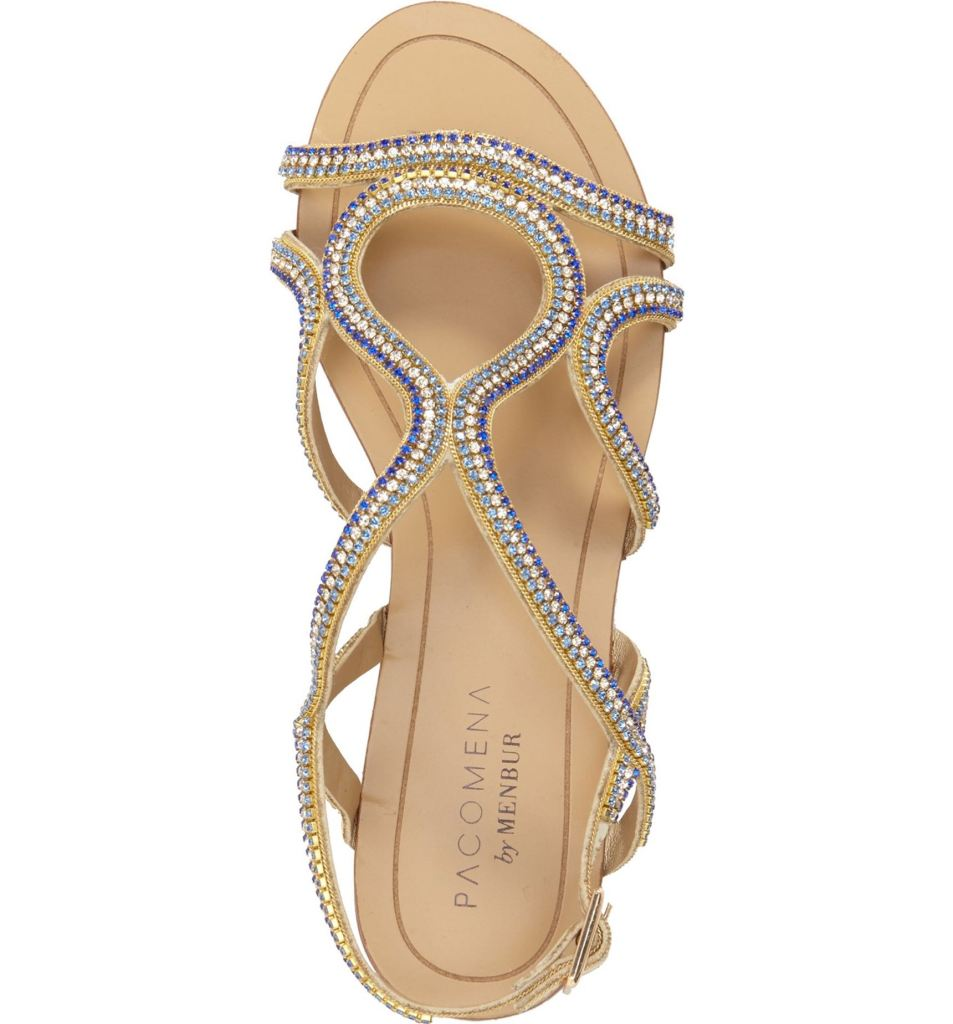 """These would be perfect for wedding flats and even have a little """"something blue"""" on them!"""