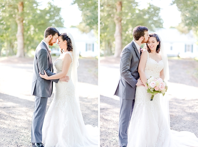 We're in love with this darling couple and their handmade wedding!